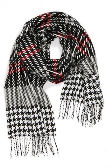 'Softer Than Cashmere' Plaid Scarf $19.50