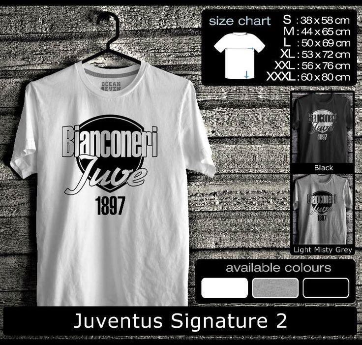 Kaos Juventus FootBall Club   Kaos Juveniti 1