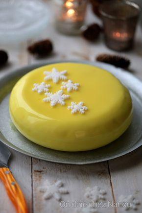Entremet citron framboises dessert de Fêtes