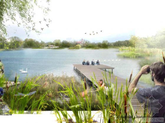 德国索姆河道生态综合性修复 还没建