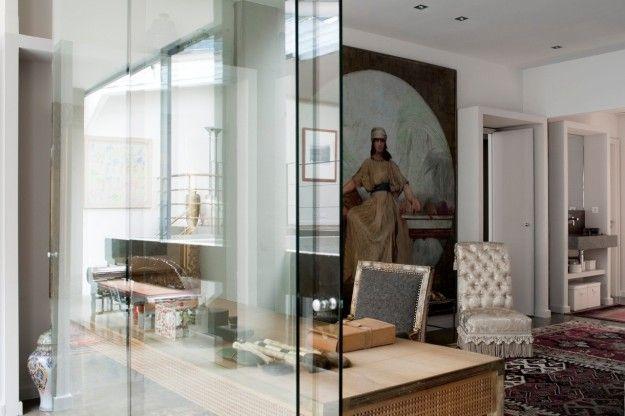 Una casa di lusso a parigi arredamento d 39 interni for Case di lusso a una storia