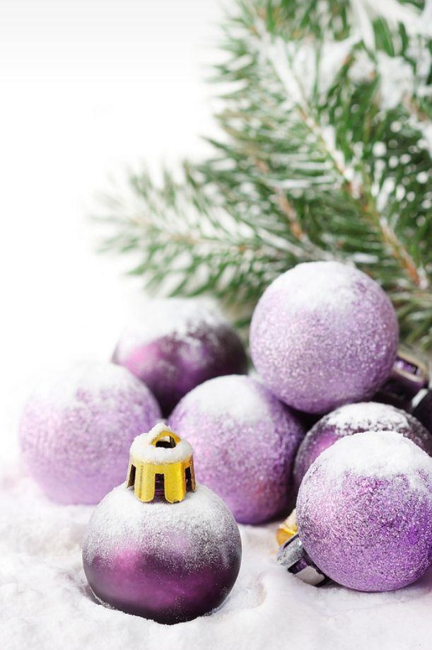 234 best purple christmas images on Pinterest