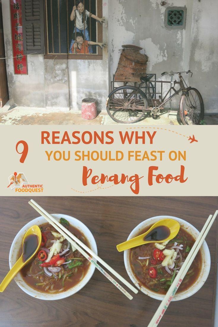 Pinterest Penang Food Authentic Food Quest
