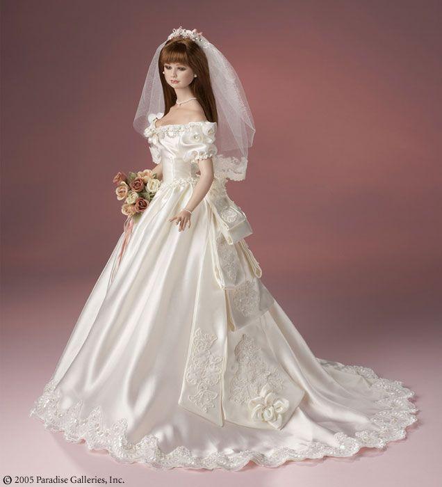 120 Best Porcelain Bride Dolls Images On Pinterest