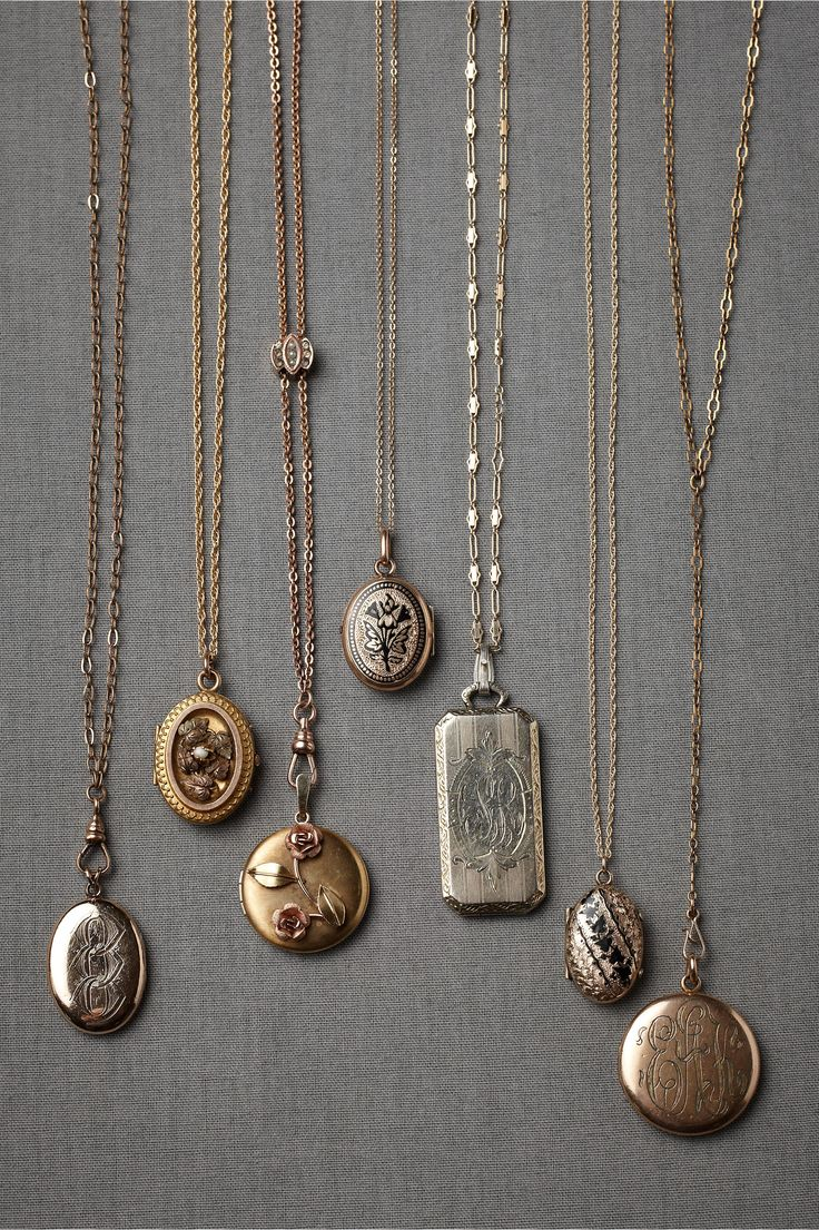Collector's Lockets in SHOP Shoes & Accessories Jewelry at BHLDN