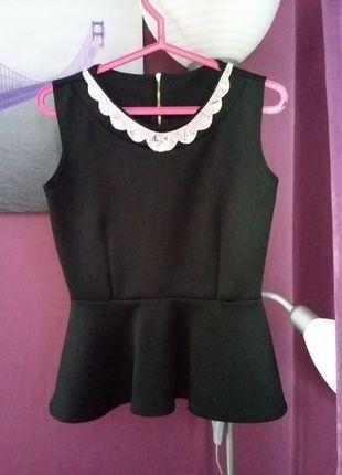 Kup mój przedmiot na #vintedpl http://www.vinted.pl/damska-odziez/bluzki-bez-rekawow/14280299-cudowna-baskinka-z-aplikacja