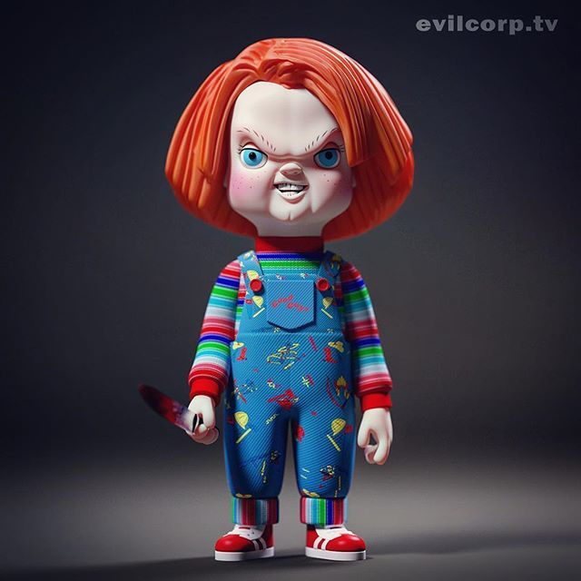Holidays are coming chucky Character design animation