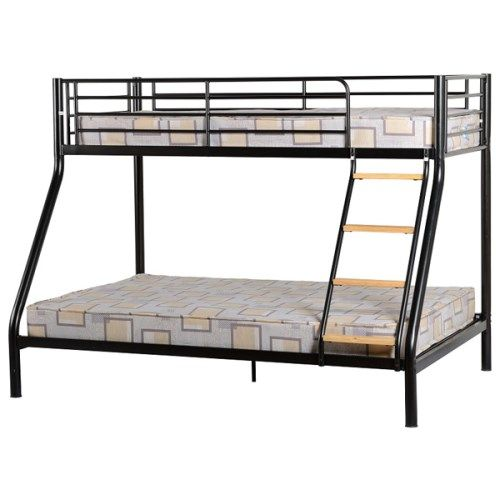 Seconique Toby Triple Sleeper in Black - bunk bed frame only kids bunk beds http://www.comparestoreprices.co.uk/bunk-beds/seconique-toby-triple-sleeper-in-black--bunk-bed-frame-only.asp