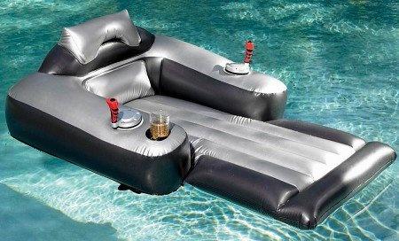 Motorized Inflatable Pool Lounger Opulentitems Com
