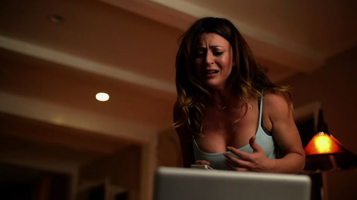 SKYPEMARE - Alison is left home alone on Halloween night, but while chatting with her best friend Jenna over Skype, something terrifying happens to Jenna, leaving Alison helpless on the other side of the computer screen, watching in horror.  (6:30)