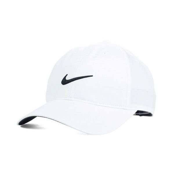 Nike Golf Tech Swoosh Cap ($22) ❤ liked on Polyvore featuring accessories, hats, nike golf cap, nike golf, nike golf hat and caps hats