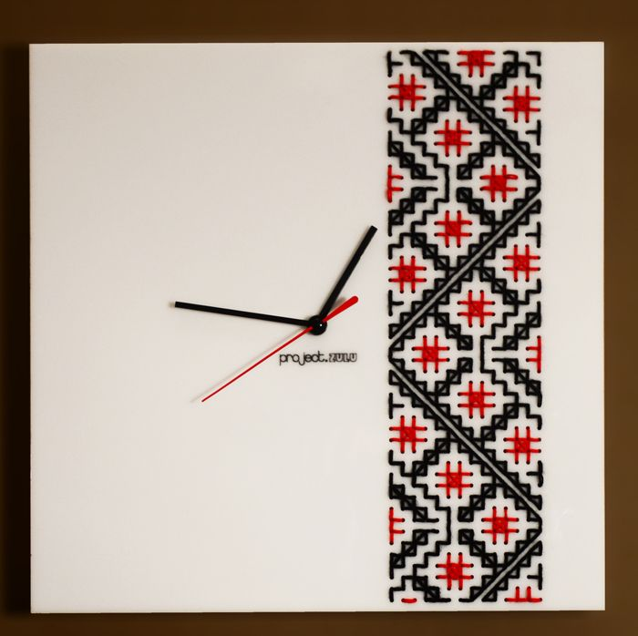 Romanian Embroidery Pattern Clocks | Project Zulu