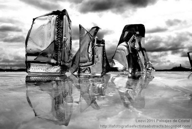 La Fotografía Efectista Abstracta. Fotos Abstractas. Abstract Photos.: Abstract Photo 2351 Crystal Landscape 76 My way back to what it's lik...