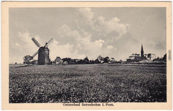 Sorenbohm Windmühle Pommern 1923