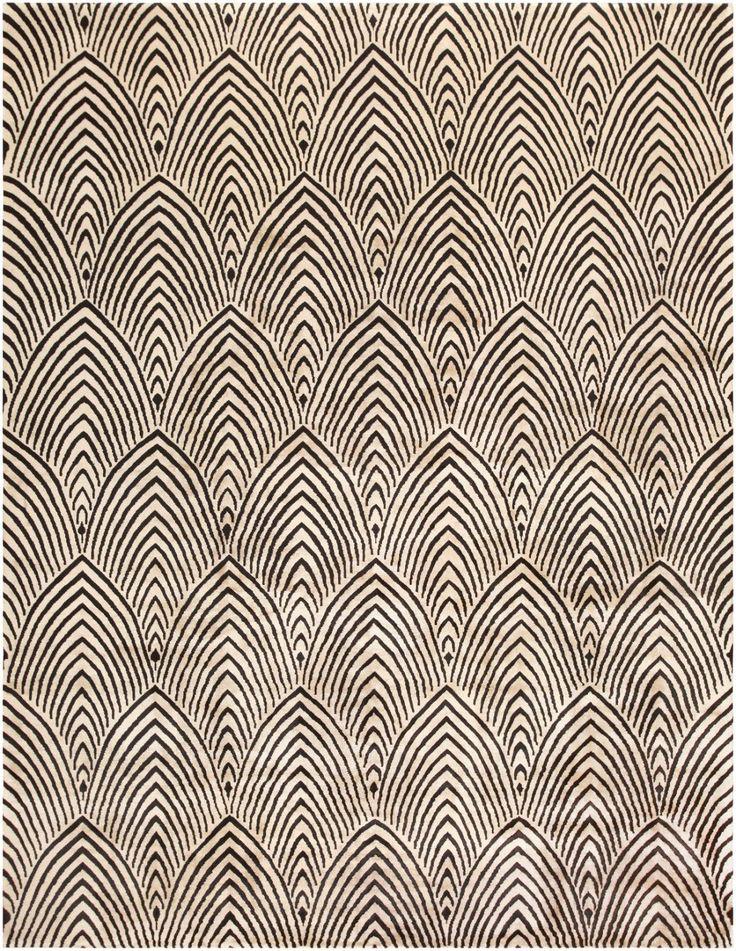 carpet pattern-Antique Chinese Art Deco Carpet 46931 Nazmiyal - By Nazmiyal