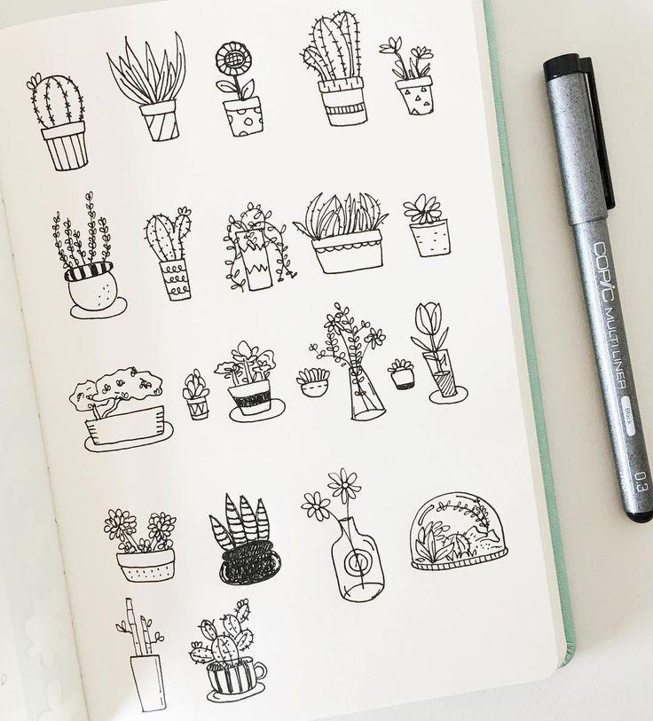 Мини рисунки для скетчбука легкие