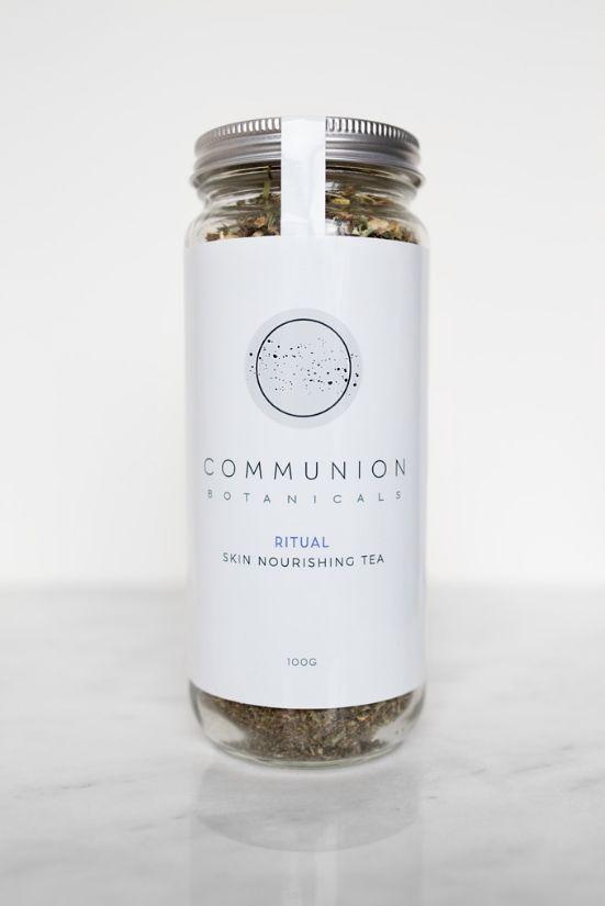 Communion Botanicals RITUAL Skin Nourishing Tea