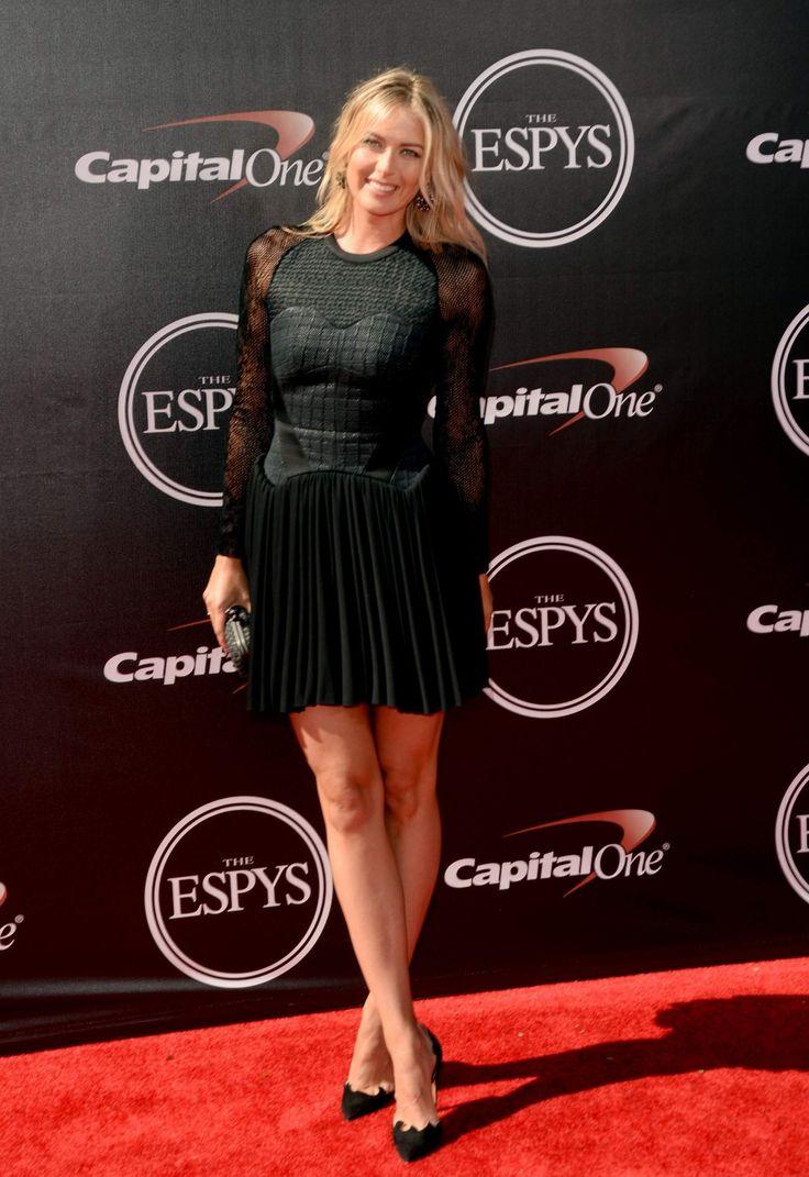 Maria Sharapova at the 2014 ESPYS Awards, Los Angeles (2014)