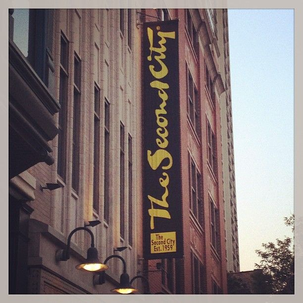The Second City in Chicago, IL. I want to see this place!!