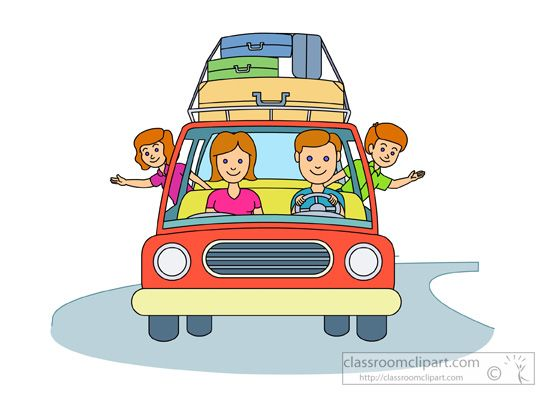 clipart of family vacation - photo #19