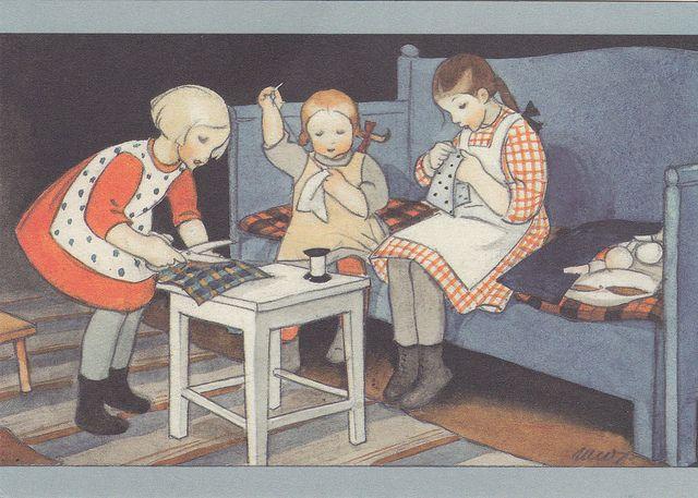 *Martta Wendelin illustration*