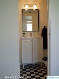 liten toalett inredning handfat - Sök på Google