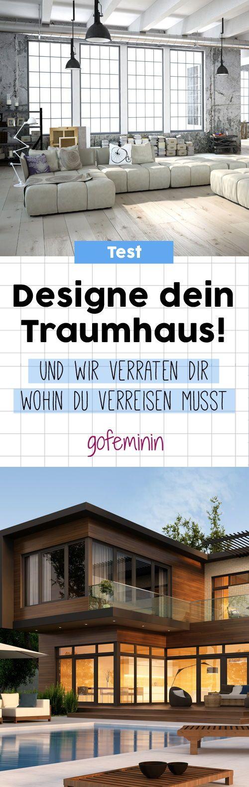 Wie würde dein Traumhaus aussehen? Mach den Test und wir verraten dir, was dein nächstes Reiseziel werden sollte! #test #interior #traumhaus #einrichtung #persönlichkeitstest #reiseziele