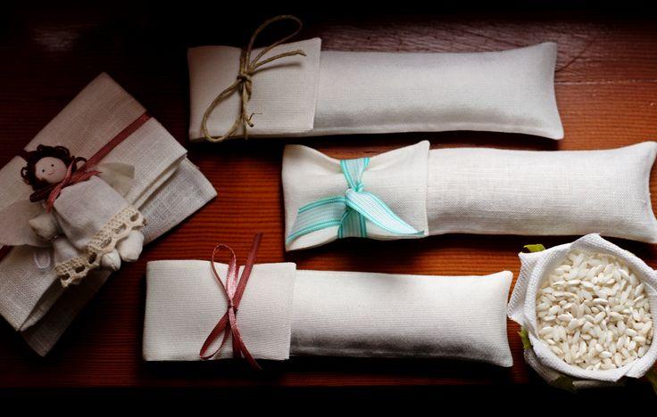 Sacchetti per il riso #bomboniere #matrimonio #labottega