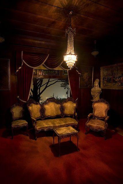 Gothic Living Room Livingroom Den Victorian Decor Home Furniture