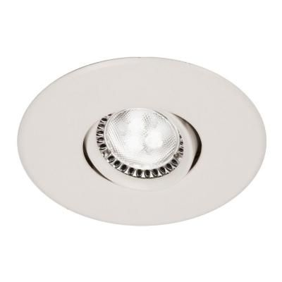 BAZZ Flex 4 Series 3 in. White LED Recessed Lighting Fixture with Designed for Ceiling Clearance-310LPL7W - The Home Depot