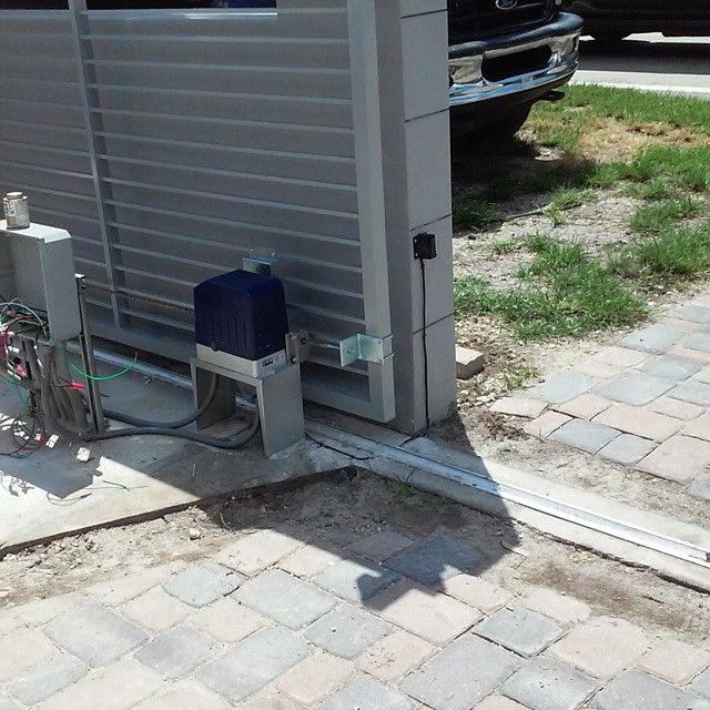50 best gate opener images on pinterest gate openers for Best electric gate motors