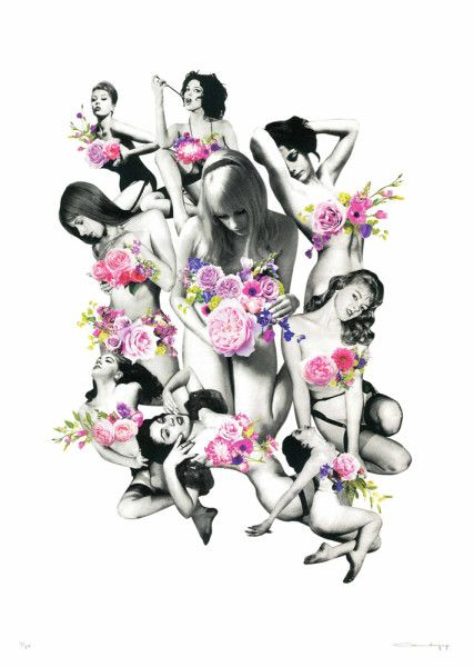 Cassandra Yap - Femme et Fleurs