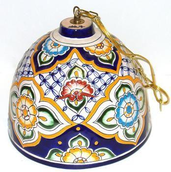 Lamp Talavera Shade