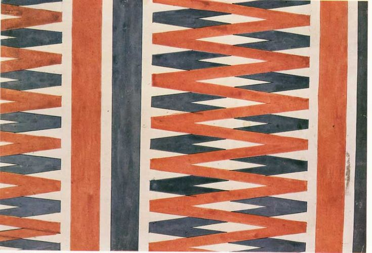 "design-is-fine: "" Liubov Popova, Fabric Designs and Sample of Printed Fabric, 1920s. State Tretiakov Gallery, Moscow. Via Tate. """