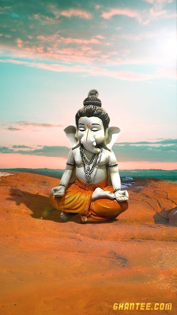 Meditating Ganpati Hd Phone Wallpaper Hanuman Wallpaper Ganesh Wallpaper Shree Krishna Wallpapers Ganesh photo wallpaper hd