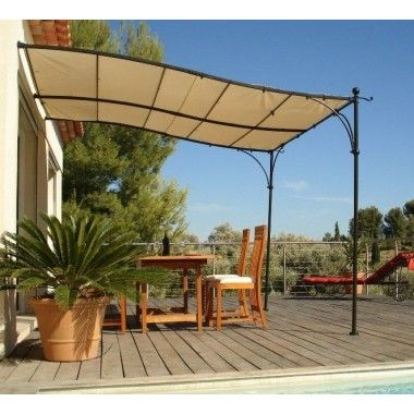 les 25 meilleures id es de la cat gorie tonnelle adoss e sur pinterest pergola bois auvent de. Black Bedroom Furniture Sets. Home Design Ideas