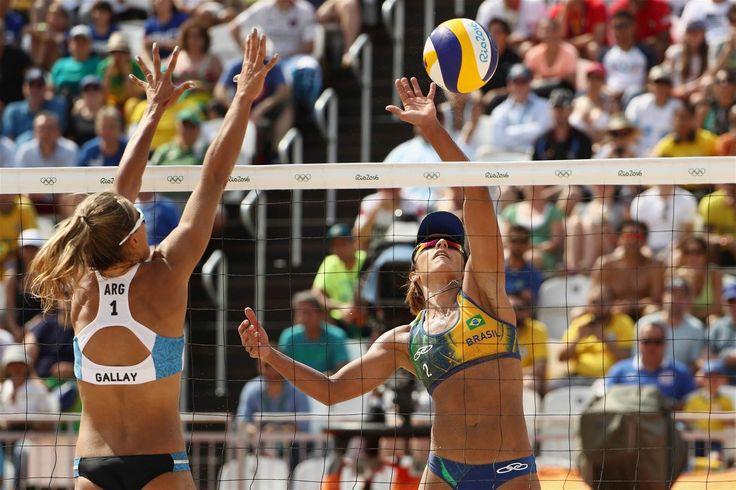 Seixas de Freitas, Barbara - Argentina, Brazil - Beach Volleyball - Brazil, Argentina - Women - Women's Preliminary - Pool B - BVA - Beach Volleyball Arena