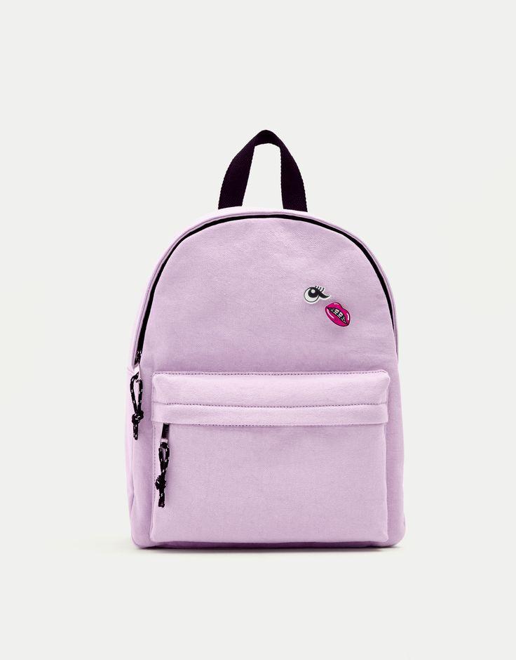 Purple backpack - Dernières nouveautés - Accessoires - Femme - PULL&BEAR France