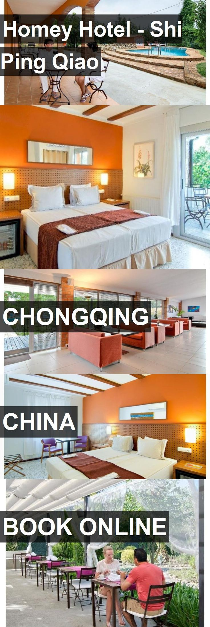 Homey Hotel - Shi Ping Qiao in Chongqing, China. For more information, photos, reviews and best prices please follow the link. #China #Chongqing #travel #vacation #hotel