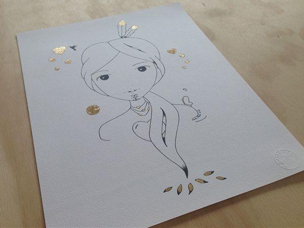 Sketch Gold Series - Amelia Hine