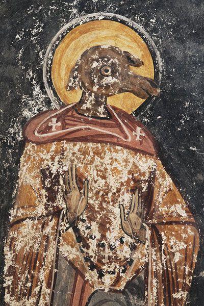 St. Christopher. Ursani, Valcea, Romania.
