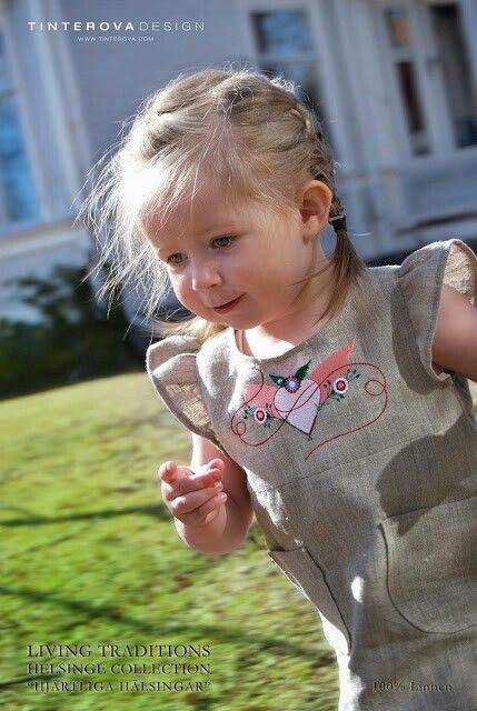 Hälsingehjärtat - Varma Hälsingar  - Lin av Tinterova