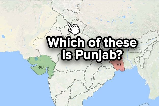 There's No Way You're Getting To Level 5 Of This India Map Quiz On Your First Try www.sta.cr/2u8g3