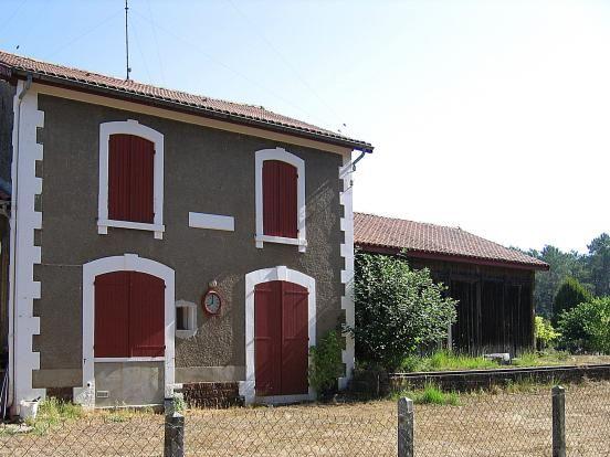 Pontenx   ---  la gare