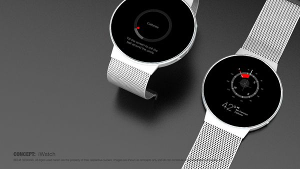 iWatch on Behance