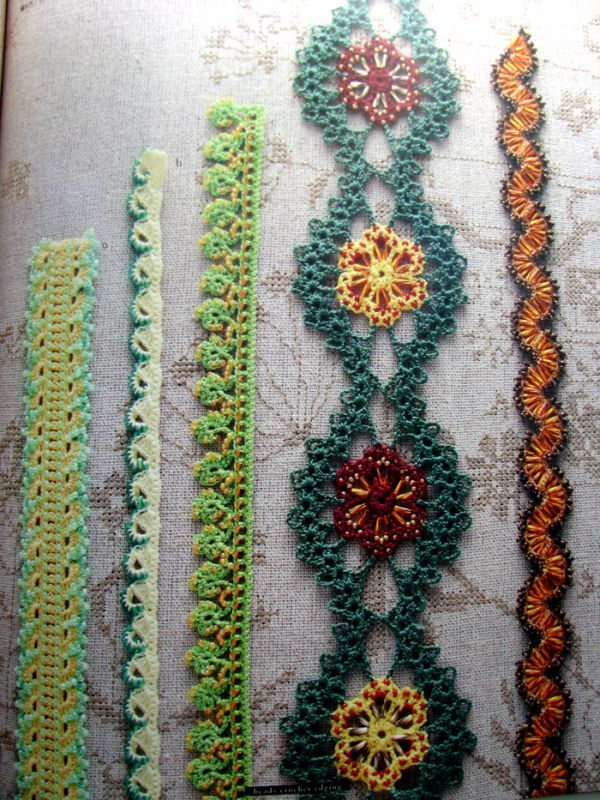 loads of crochet trim diagrams