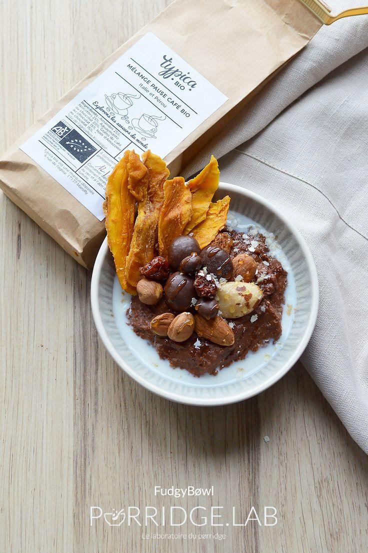 FudgyBøwl – Mon pørridge de quinoa au cacao du Pérou façon fudge