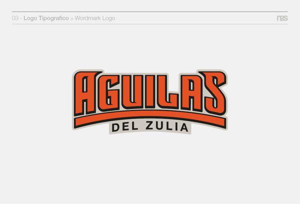 Aguilas del Zulia (Redisign) by Manuel Dos Santos, via Behance