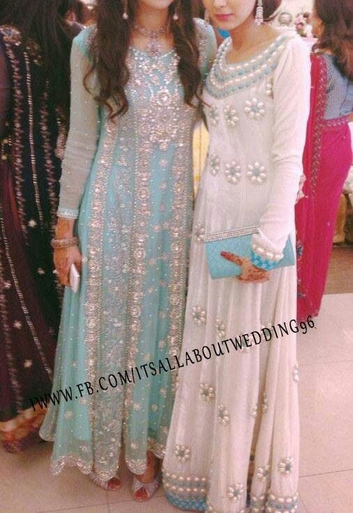 Wow! Extremely gorgeous!! I want both dresses, one for sister and me!!