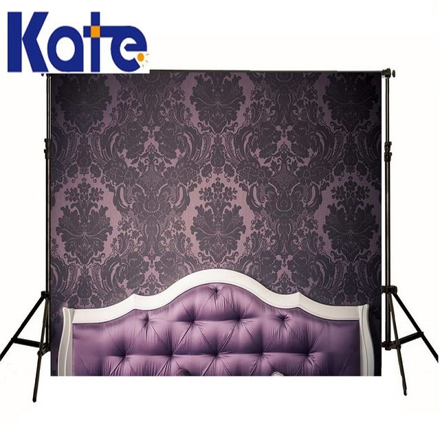 Kate backgrounds newborn props purple vinyl backdrops full bed rest photography Continental background baby